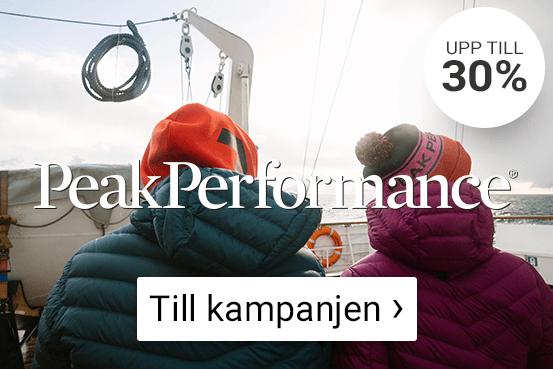 Kampanjpriser på Peak Performance. Se här!