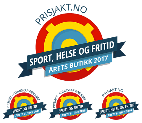 Vi har blitt kåret til Årets butikk – sport og fritid 2017!