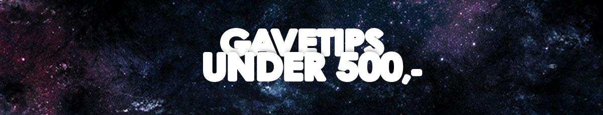 Gavetips under 500 kr