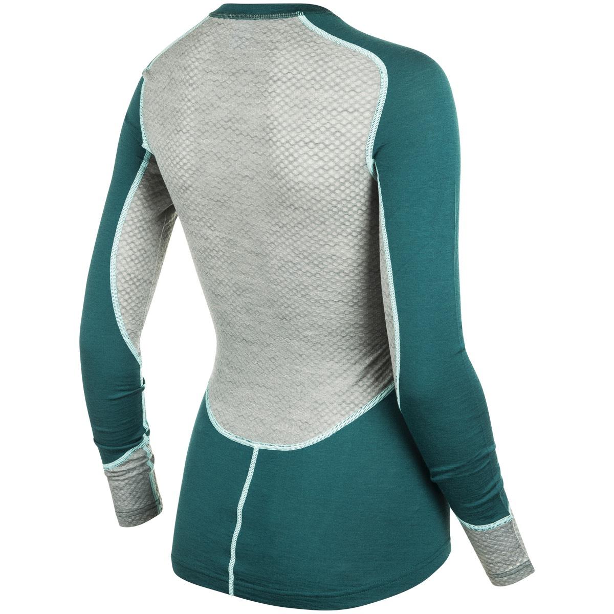 f1077e68 Johaug Lithe Tech-Wool Long Sleeve Teal   Fjellsport.no