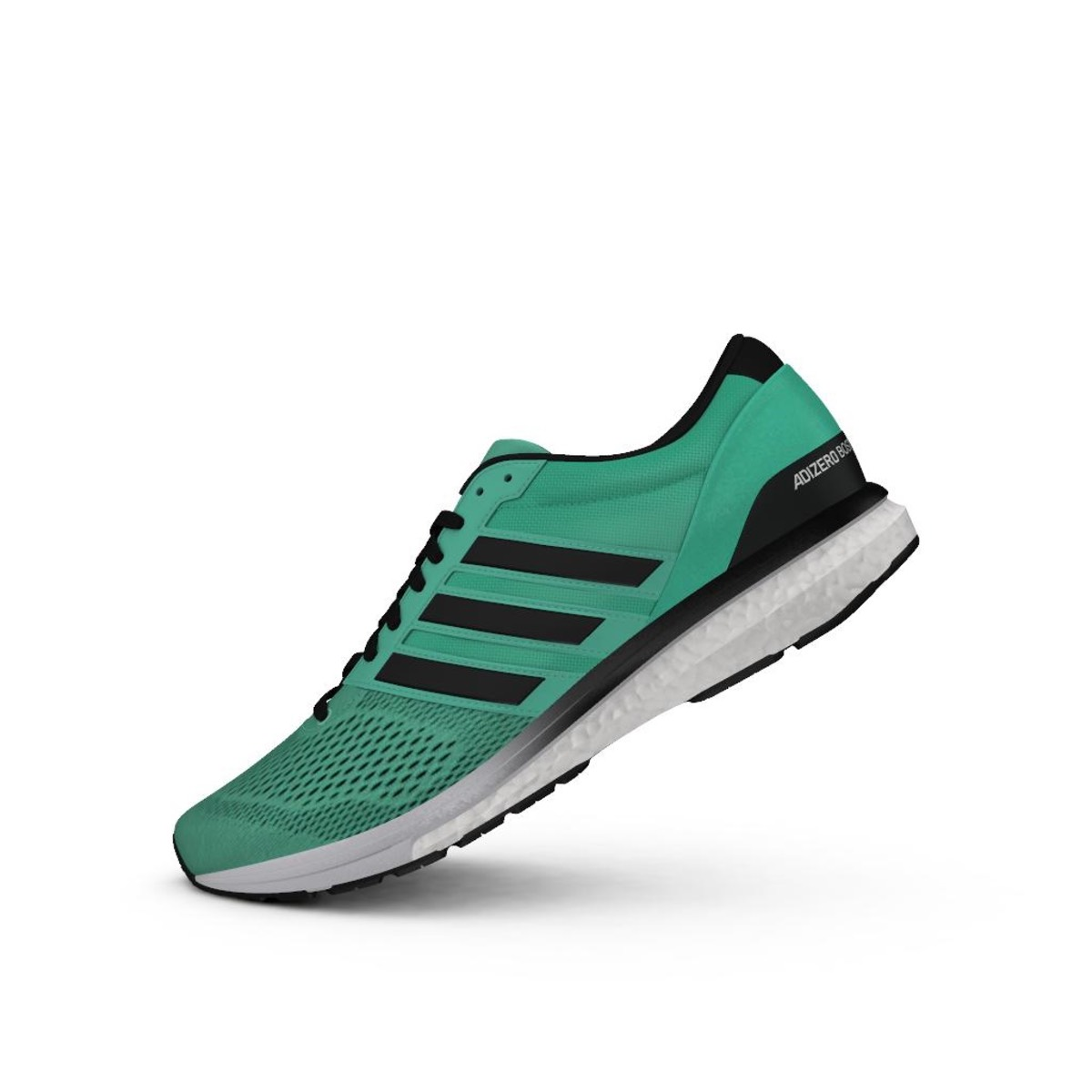 sports shoes 75846 4a92a BlackFtwr Boston Hi Green M 6 White S18Core Adidas Res Adizero A8qFPP