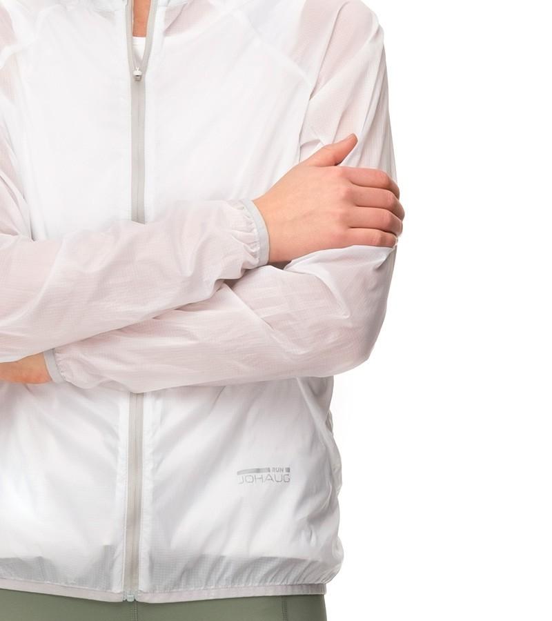 1a5f085cc9f7 Johaug RUN Light Shell Jacket WHITE