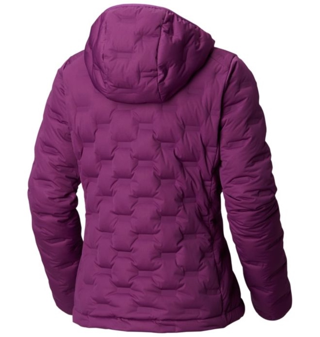 9b1482ff Mountain Hardwear Women's Stretchdown™ DS Hooded Jacket Cosmos Purple |  Fjellsport.no