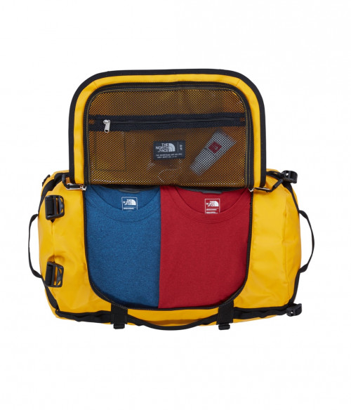 The North Face Base Camp Duffel-S Summit Gold/Tnf Black