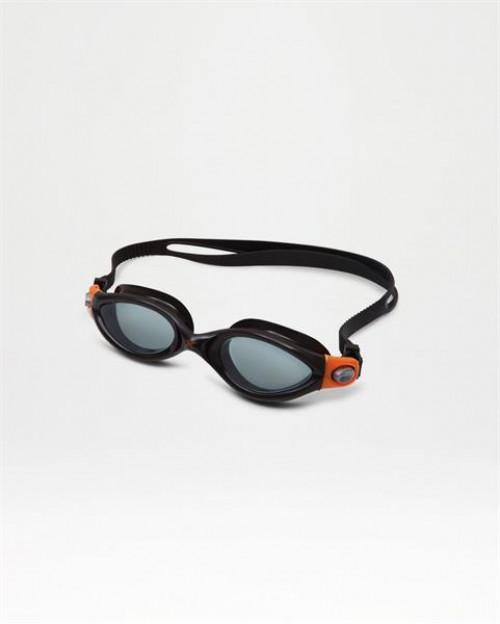 2XU Solace Goggle Senior-Smoke- U Black/Orange