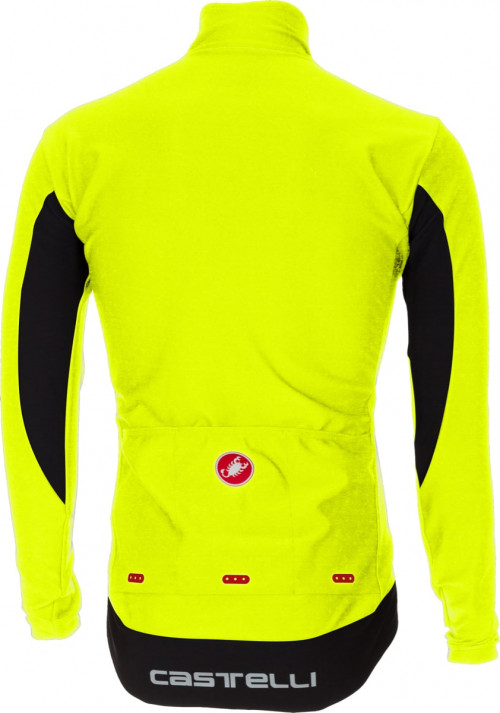 Castelli Perfetto Long Sleeve Yellow Fluo
