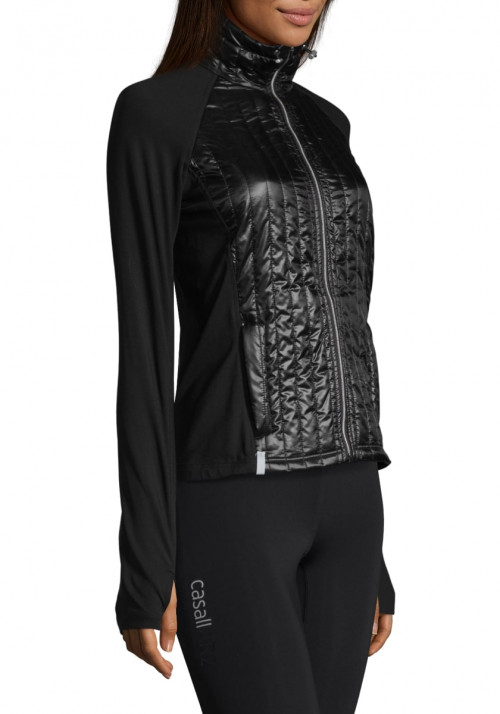 Casall Semi Padded Jacket Black