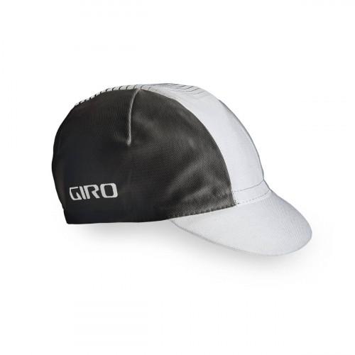 Giro Cap Classis Bomull White/Black