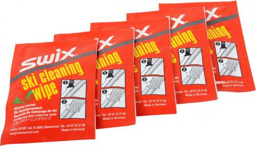 Swix I60c Ski Cleaner Wipe, Pk A 5 Pcs