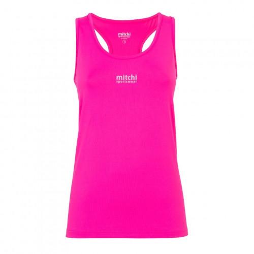 Mitchi Sportswear Basic Tank Pinkberry