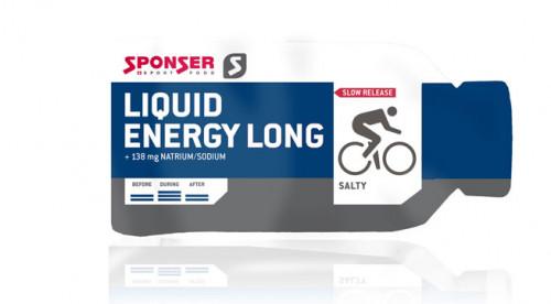 Sponser Liquid Energy Long Salty 40 g