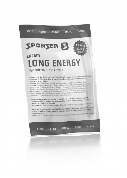 Sponser Long Energy Citrus Portion 60 g