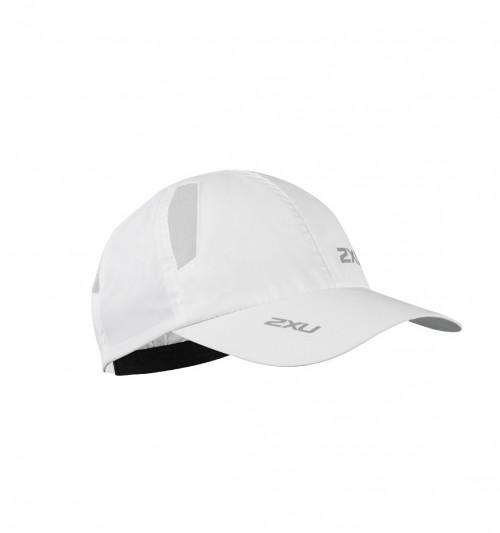 2XU Run Cap Unisex White/White