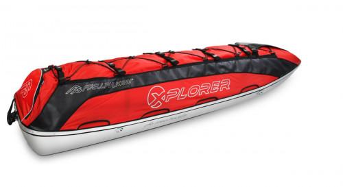 Fjellpulken Xplorer Ekspedisjonspulk Rød 188cm