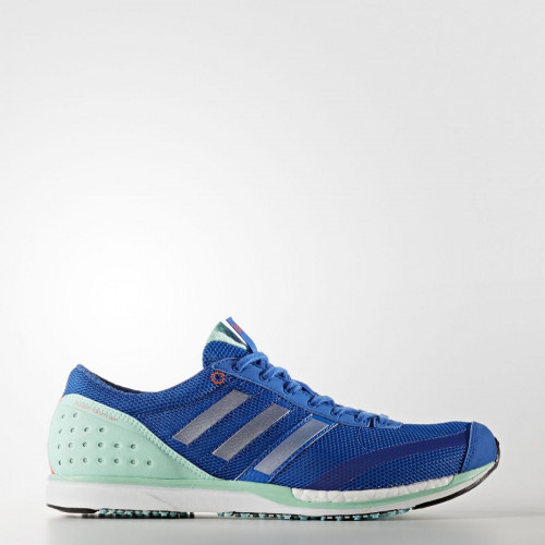 Adidas Adizero Takumi Sen 3 Shoes Blue/Metallic Silver
