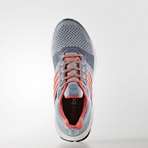 Adidas Ultra Boost ST Shoes Women's Easy Blue/Haze Coral/Dark Grey Heather Solid Grey