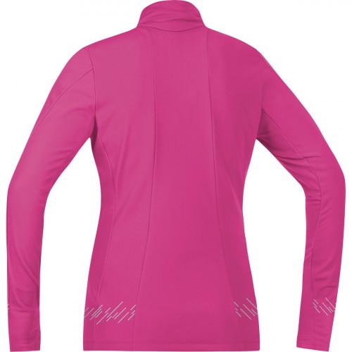 Gore Running Wear Mythos Lady 2.0 Thermo Shirt Long Raspberry Rose