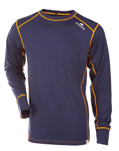 Gridarmor M's Shirt LS 100% Merino Twilight Blue