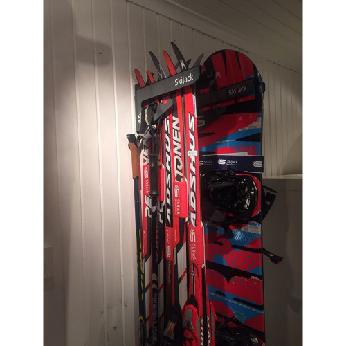 Skijack Veggfeste