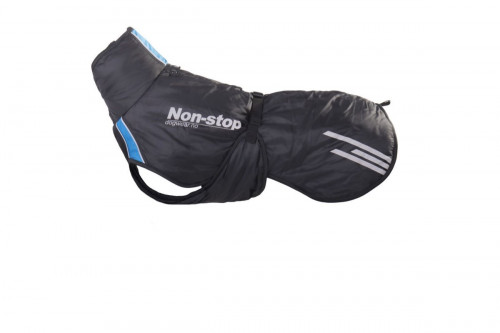 Non-Stop Dogwear Pro Warm Jacket Black/Blue