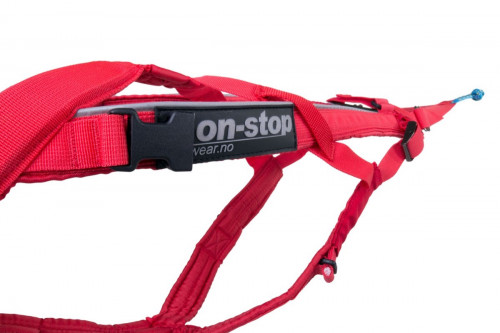 Non-Stop Dogwear Combined Harness Red