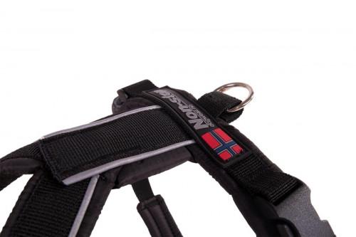 Non-Stop Dogwear Line Harness, Universal Black