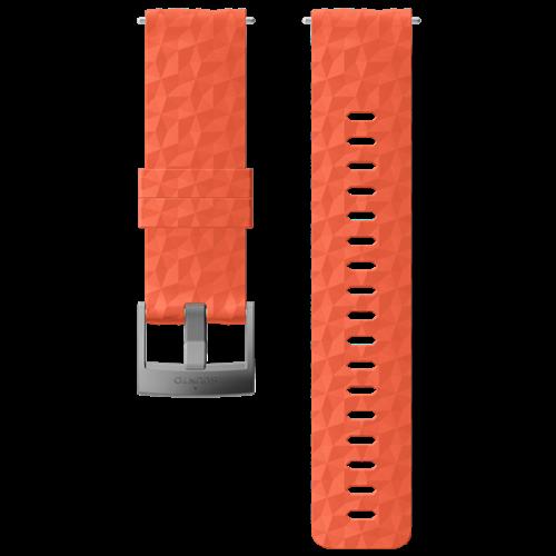 Suunto 24 Exp1 Silicone Strap Coral/Gray