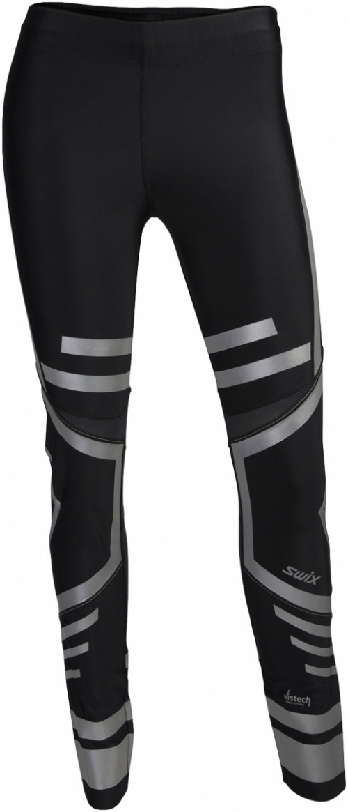 Swix Vistech O2 tights long Womens Sort
