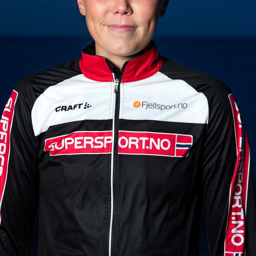Craft EXC Light Jacket 2.0 Women Supersport/Black/White