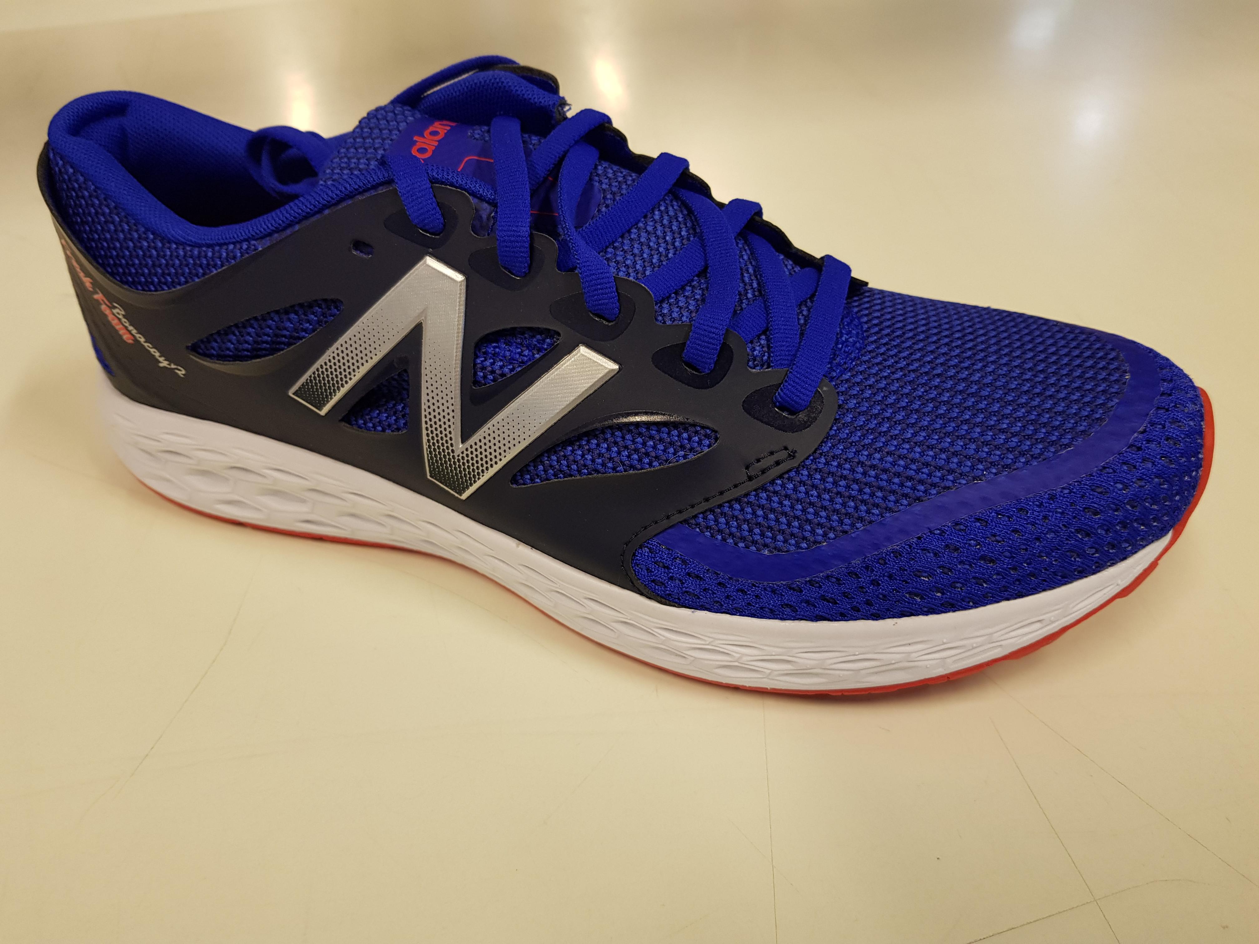 2c5d7f81d85 New Balance Fresh Foam Boracay Herre Blue/Orange | Supersport.no