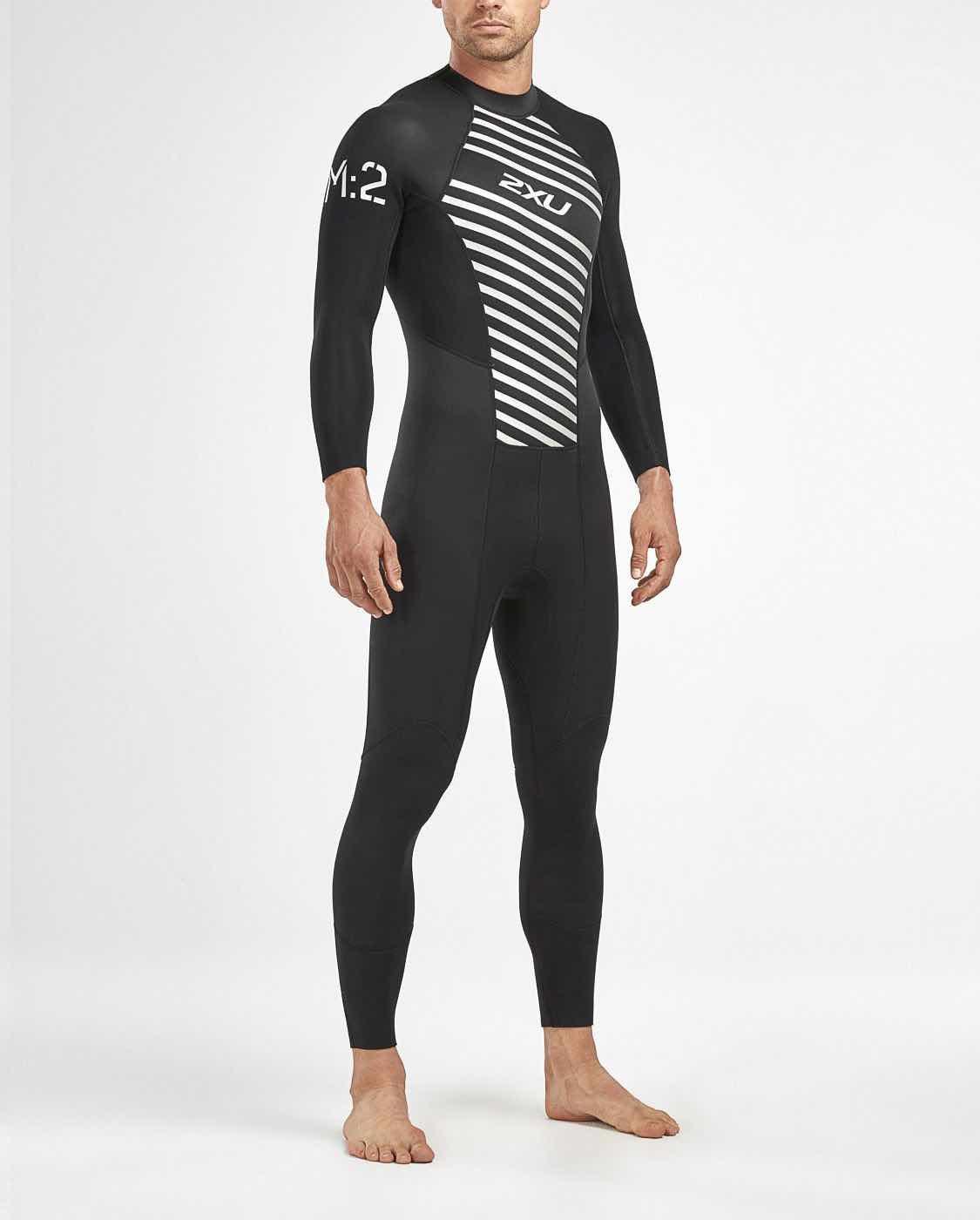 9878641ac 2XU M:2 Wetsuit M Black/Striped