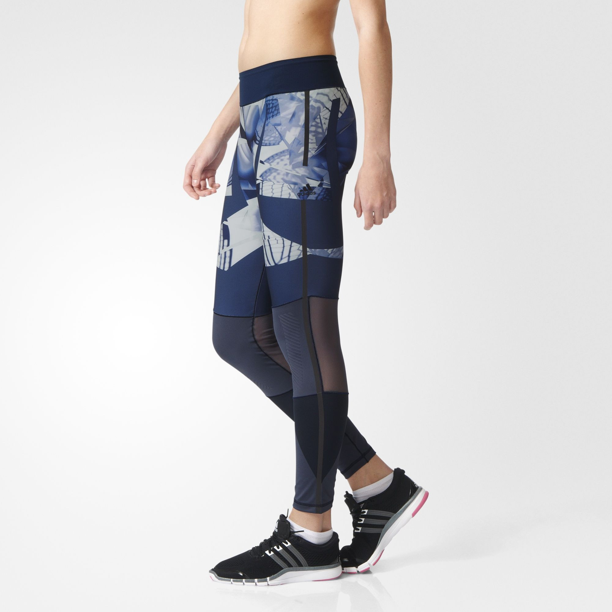 b5a8ace9 Adidas WOW Tights Women's Utility Blue/Collegiate Navy | Supersport.no