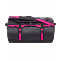 The North Face Base Camp Duffel, Tnf Black/Luminous Pink