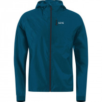 Gore® R7 Gore-Tex® Shakedry™ Hooded Jacket Pacific Blue