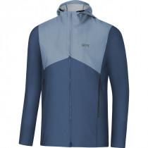 Gore® R3 Gore® Windstopper® Hooded Jacket Deep Water Blue/Cloudy Blue