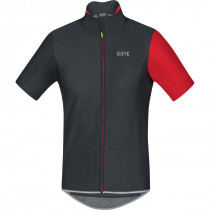 Gore® Wear Gore® C5 Gore® Windstopper® Jersey Black/Red