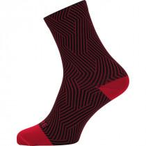 Gore® Wear Gore® C3 Optiline Mid Socks Red/Black