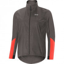 Gore® C7 Women Gore-Tex® Shakedry™ Viz Jacket Lava Grey/Lumi Orange