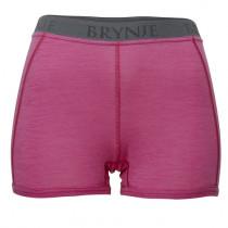 Brynje Lady Classic Rib Boxer-shorts Pink