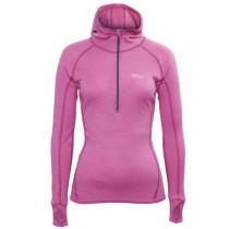 Brynje Lady Classic Rib Shirt w/hood Pink