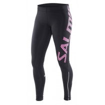 Salming Running Tights Women Black/Knockout Pink