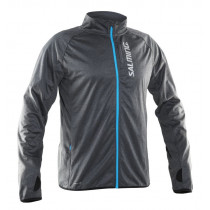 Salming Running Jacket Men Dk Grey Melange