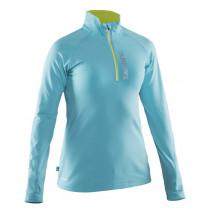 Salming Run Halfzip Longsleeve Women Turquoise