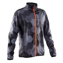 Salming Ultralite Jacket Men 2.0 Grey/Black Print