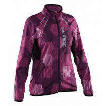 Salming Ultralite Jacket 2.0 Women's Azalea Pink/ Black Print