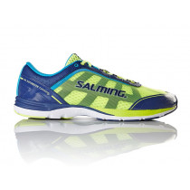 Salming Distance 3 Shoe Men Navy/Safetyyellow