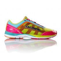 Salming Distance 3 Shoe Women Pink Glo/Turquoise