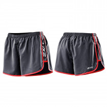 2XU Run Short Dame sort/rosa