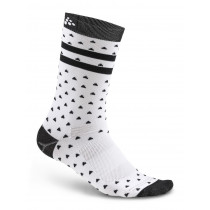 Craft Pattern Sock White/Black