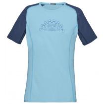 Norrøna Fjørå Equaliser Lightweight T-Shirt Women's Indigo Night/Trick Blue